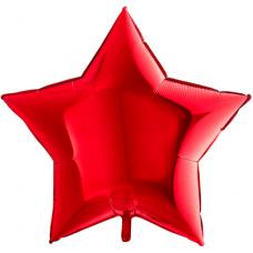 Большая звезда красная