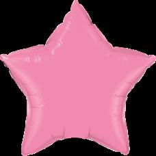 Шар звезда Розовая